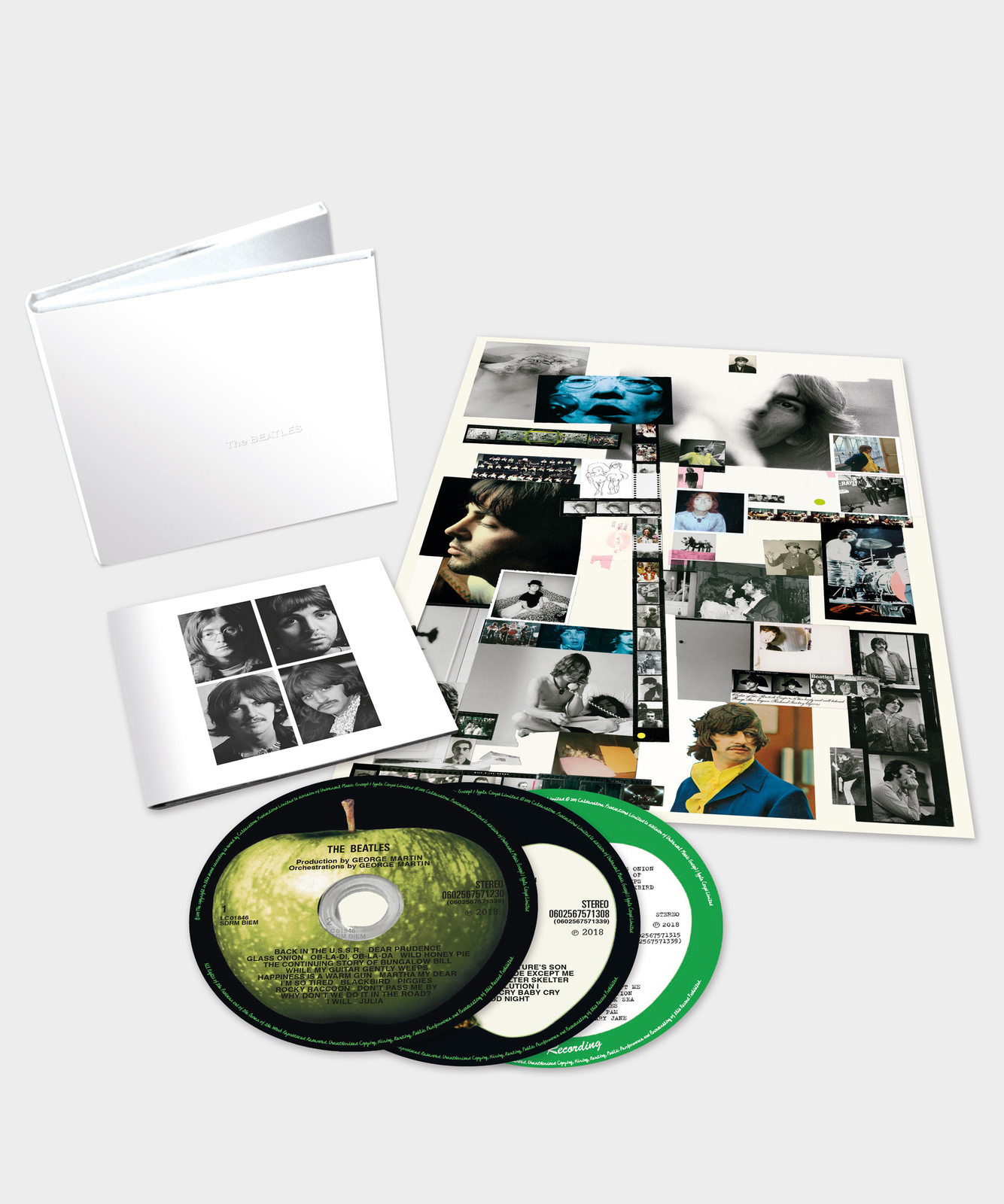 The Beatles (The White Album) 3CD by The Beatles image