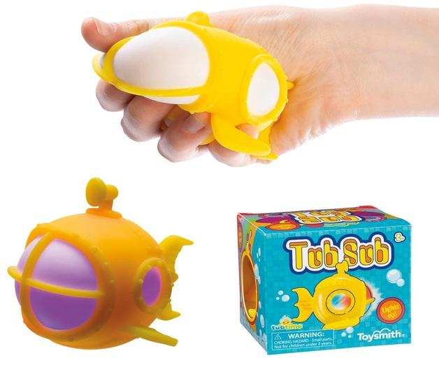 Toysmith: Tub Sub - Bath Toy (Assorted Designs)
