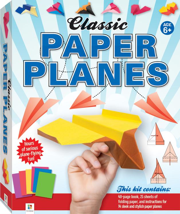 Hinkler: Classic Paper Planes - Box Set