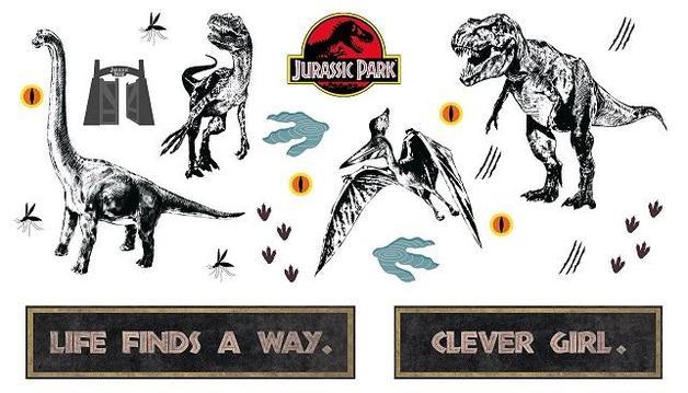 Jurassic Park - Wall Decal Set