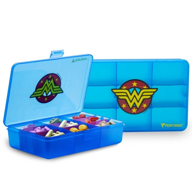 Performa: DC Comics Chest Pill Container - Wonder Woman