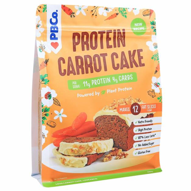 PBCo. Plant Based Protein Carrot Cake (320g)