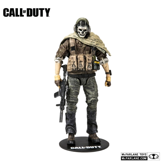 "Call of Duty: Simon ""Ghost"" Riley - 7"" Articulated Figure"