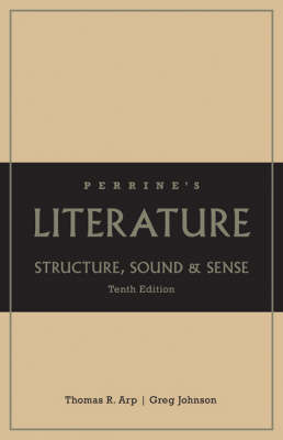 Perrine's Literature: Structure, Sound, and Sense by Thomas R Arp image