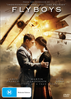 Flyboys on DVD image