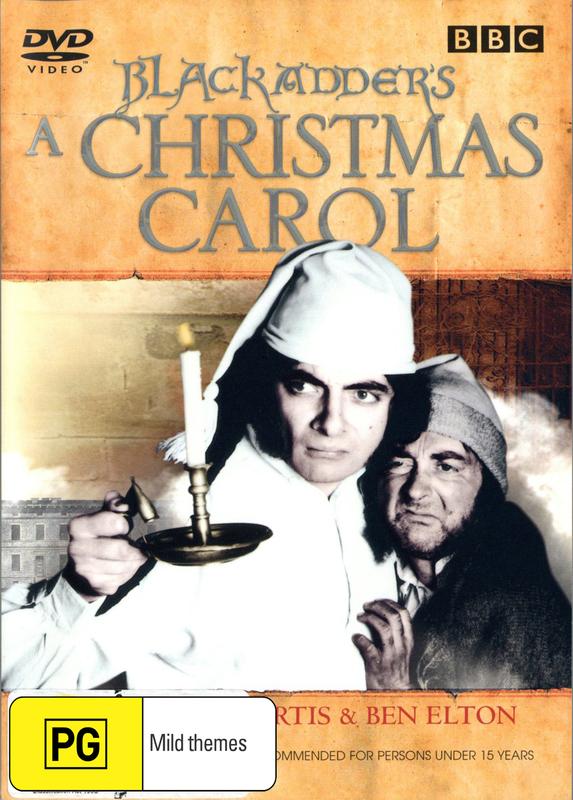 Blackadder's A Christmas Carol on DVD