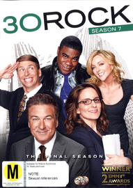 30 Rock - Season 7 on DVD