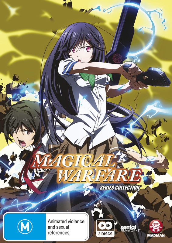 Magical Warfare: Series Collection on DVD