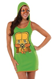 TMNT Michelangelo Tank Dress (Medium)