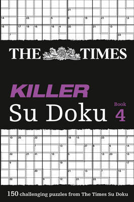 The Times Killer Su Doku 4 by The Times Mind Games image