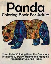 Panda Coloring Book for Adults by Coloring Books Now