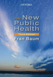 The New Public Health by Fran Baum image
