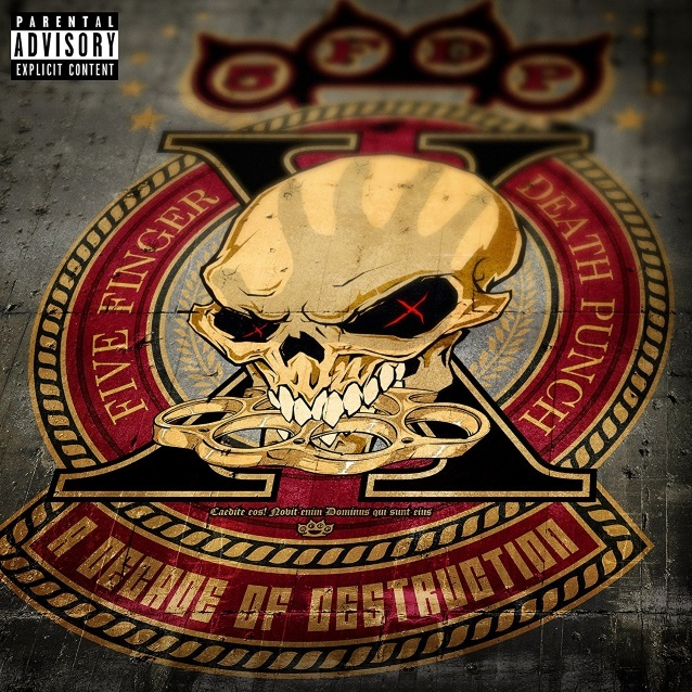 A Decade Of Destruction by Five Finger Death Punch image