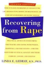 Recovering from Rape by Linda A. Ledray