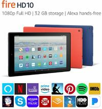 "Amazon: Fire HD 10 Tablet (10.1"" / 2019 Model / 32GB) - Black image"