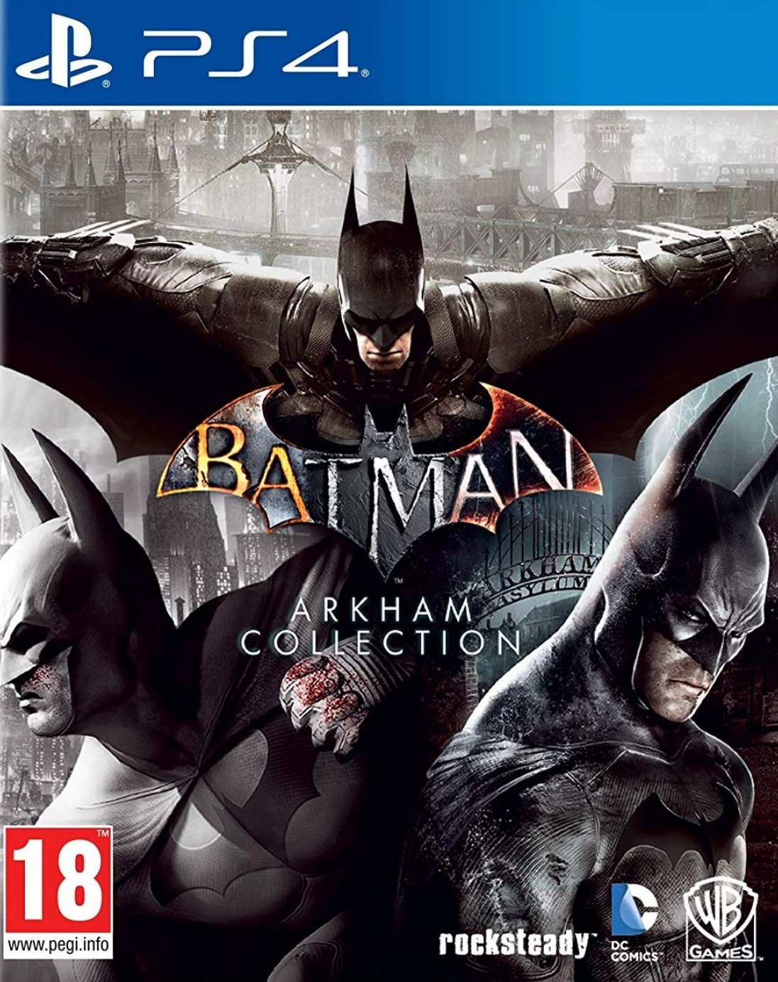 Batman Arkham Collection Edition for PS4 image