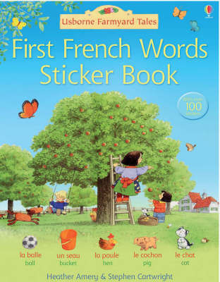 First French Sticker Book by Heather Amery image