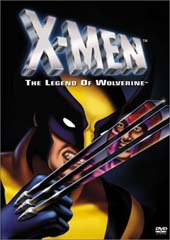 X-Men - Legend of Wolverine on DVD
