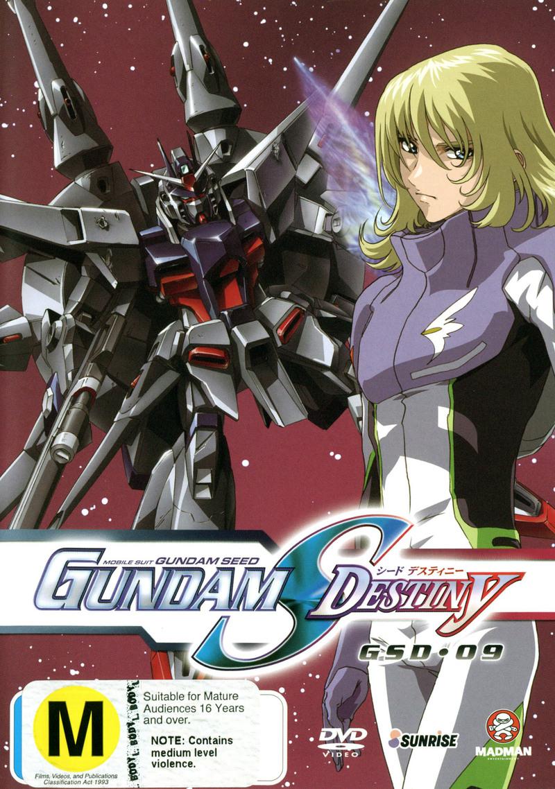 Gundam Seed - Gundam S Destiny: Vol. 9 on DVD image
