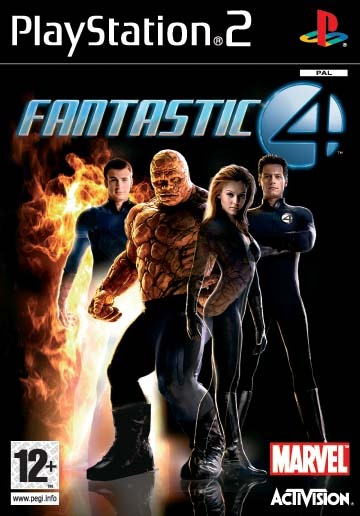 Fantastic 4 for PlayStation 2