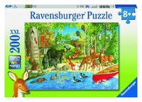 Ravensburger Woodland Friends Puzzle (200pc)