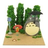 Miniatuart Ghibli Series: 1/48 Totoro: Bus Stop Papercraft Kit