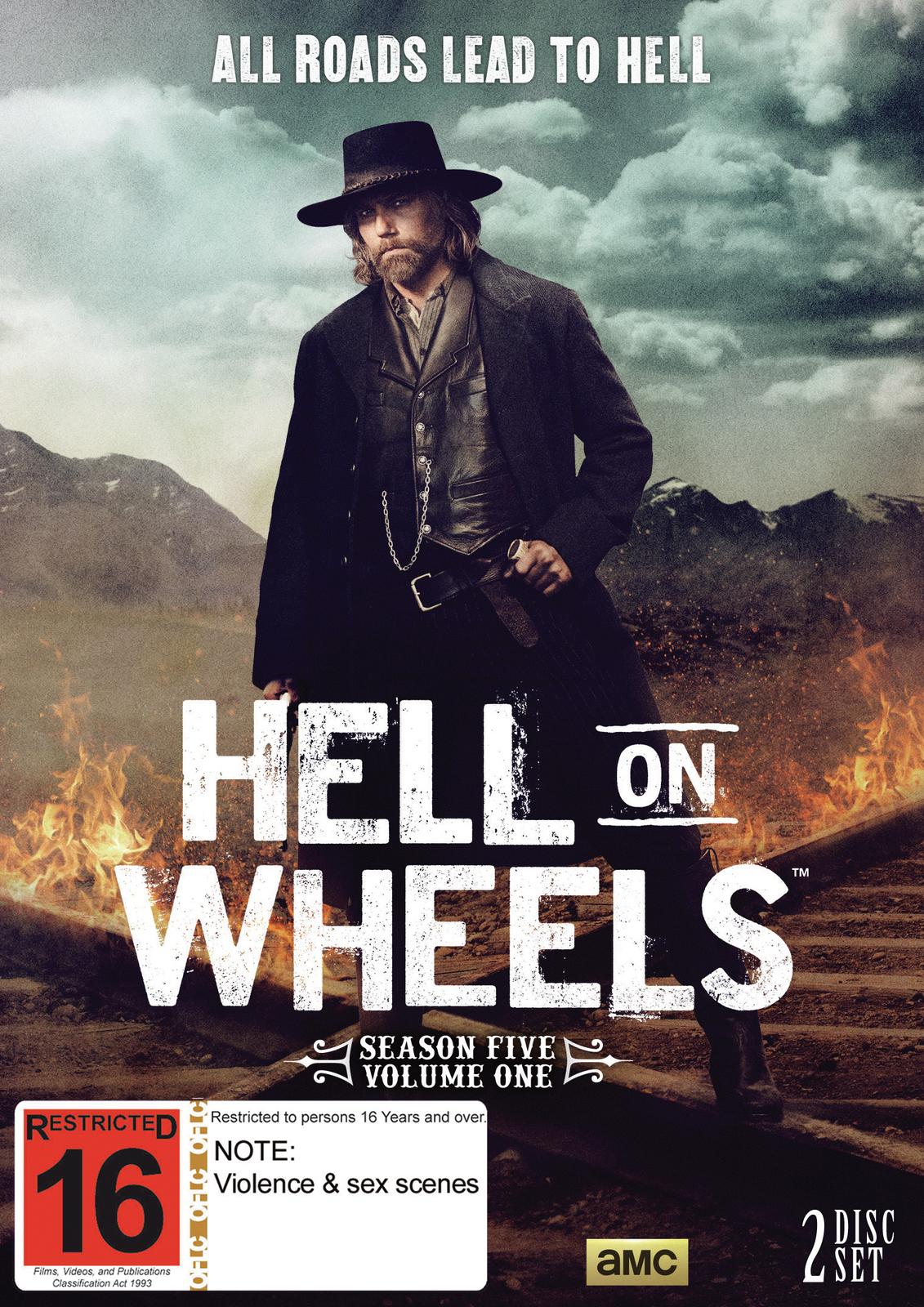 Hell on Wheels: Season Five - Part 1 on DVD image