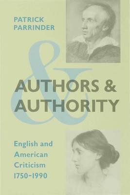 Authors and Authority by Patrick Parrinder image