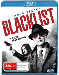 The Blacklist Season 3 on Blu-ray