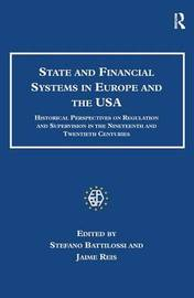 State and Financial Systems in Europe and the USA by Jaime Reis image