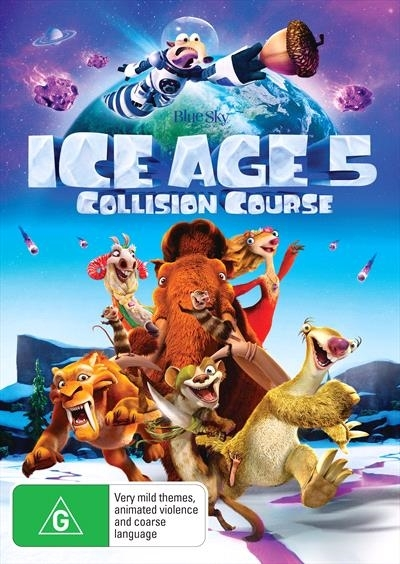 Ice Age 5: Collision Course on DVD image