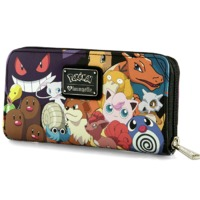 Loungefly Pokemon Characters Wallet