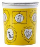Maxwell & Williams: Purrfect Canister - Yellow (500ml)