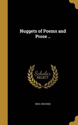 Nuggets of Poems and Prose .. image