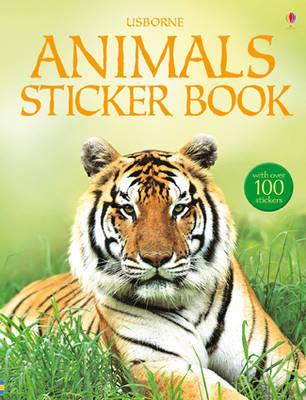 Animals Sticker Book by Philip Clarke image