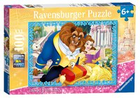 Ravensburger : Disney Belle & Beast Puzzle 100pc