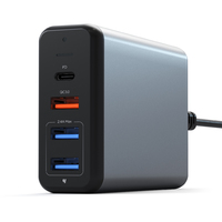 Satechi: 75W Multiport Travel Charger (Space Grey)