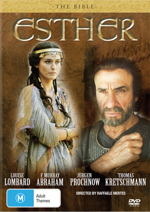 The Bible - Esther on DVD image