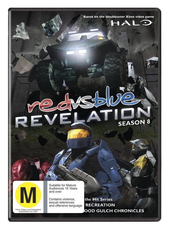 Red vs. Blue - Season Eight: Revelation on DVD