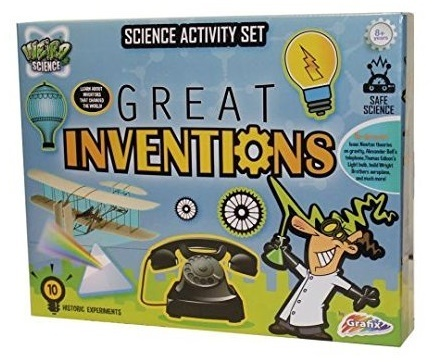 Grafix: Weird Science - Great Inventions