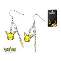 Pokemon Pikachu Dangle Earrings