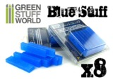 Green Stuff World - Blue Stuff Mold Bar - 8-Pack