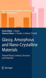 Glassy, Amorphous and Nano-Crystalline Materials image