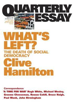 What's Left? by Clive Hamilton image