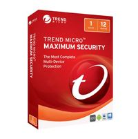Trend Micro: Maximum Security 2017 - (1 Device) 1 Year OEM (No CD Media)