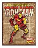 Marvel: The Invincible Iron Man Retro Tin Sign