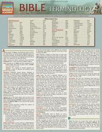 Bible Terminology by BarCharts Inc