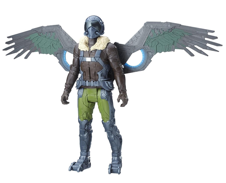 Spiderman Movie: Vulture - Titan Hero Series Electronic Villain image