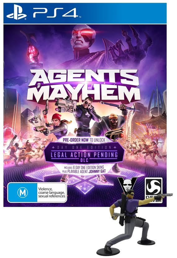 Agents of Mayhem Day 1 Edition for PS4 image