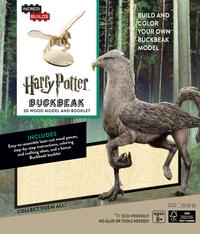 IncrediBuilds: Harry Potter 3D Wood Model and Booklet - Buckbeak